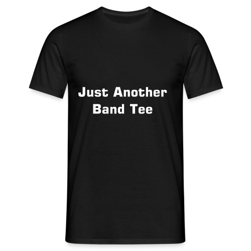 Men's T-Shirt - Band merchandise stule comical shirt.  Design by Porn Slash Rock Star