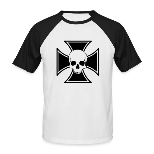 Skull - Camiseta béisbol manga corta hombre