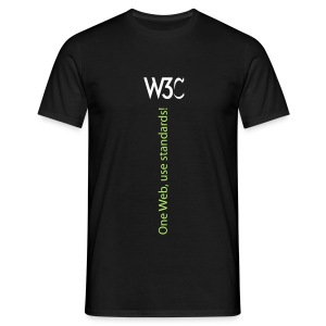 oneweb_men_black_shirt_2 - Men's T-Shirt