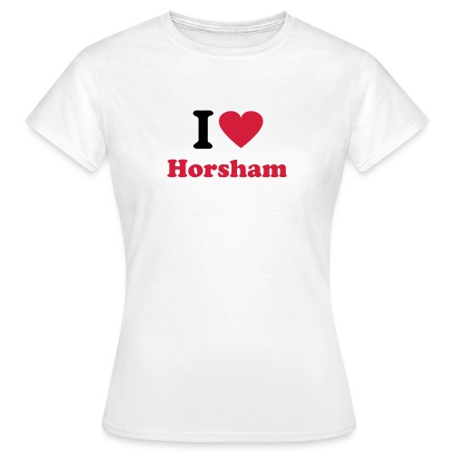 I Love Horsham (Women's) - Women's T-Shirt