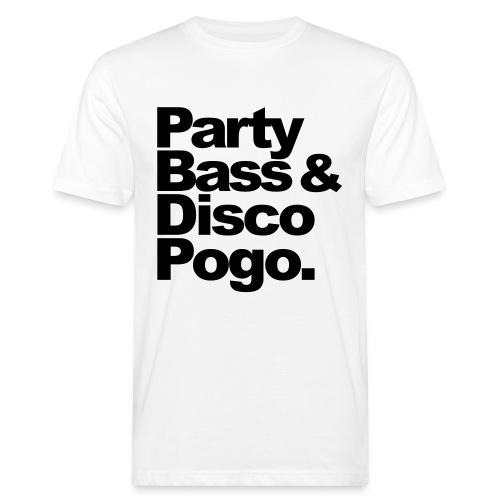 Party, Bass & Disco Shirt - Männer Bio-T-Shirt