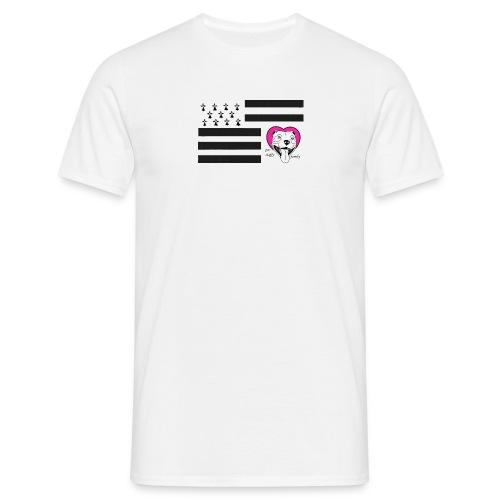 tee shirt staffie breton - T-shirt Homme