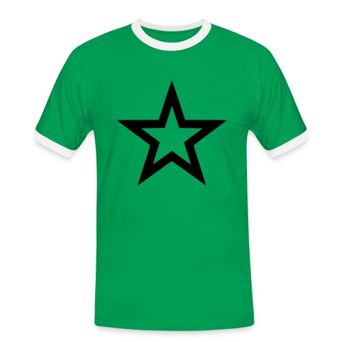 Red Star - Männer Kontrast-T-Shirt