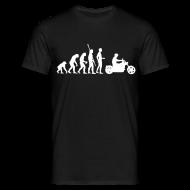 T-Shirts ~ Men's T-Shirt ~ Evolution Motorcycle
