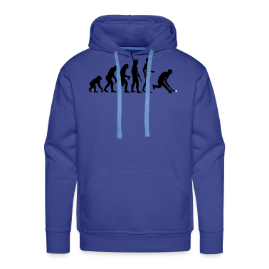 evolution herren hockey 2c hoodie spreadshirt. Black Bedroom Furniture Sets. Home Design Ideas