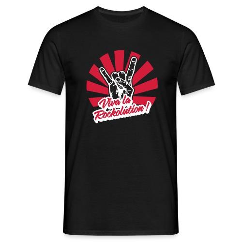 Viva la Rockolution - Männer T-Shirt