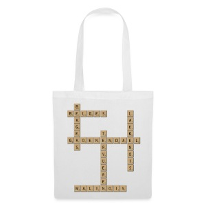 sac scrabble - Tote Bag