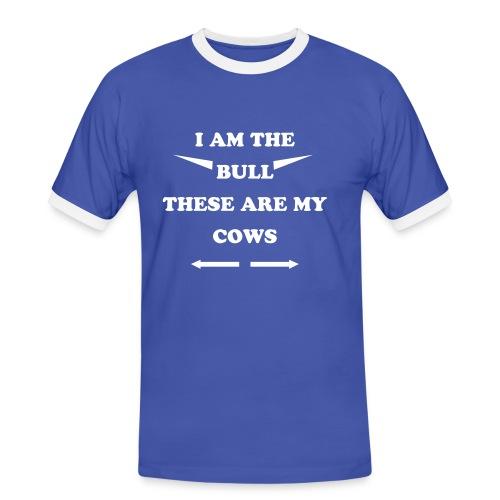 Bull - Herre kontrast-T-shirt