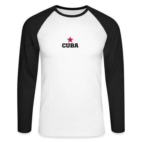 Raglan Cuba - T-shirt baseball manches longues Homme