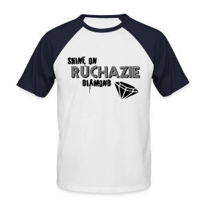 Shine on Ruchazie Diamond - Men's Baseball T-Shirt
