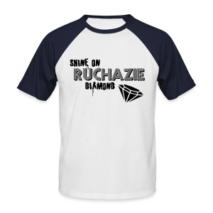 Shine on Ruchazie Diamond - Men's Baseball T-Shirt