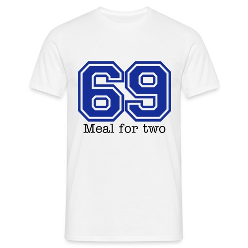 69 Meal for Two - Men's T-Shirt