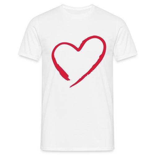 HEART - T-skjorte for menn