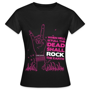 Dead Rock - Pink (lady's) - Women's T-Shirt