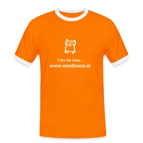 I like the moon... - Männer Kontrast-T-Shirt