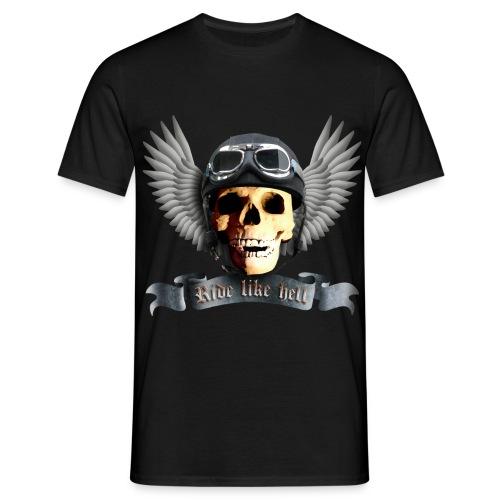 Ride like - Männer T-Shirt