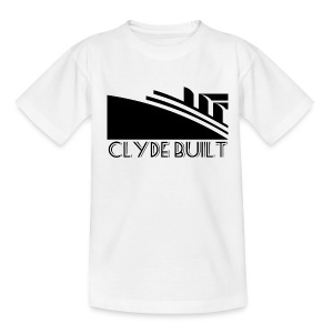 Clyde Built - Teenage T-shirt
