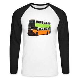 Corpy Bus - Men's Long Sleeve Baseball T-Shirt