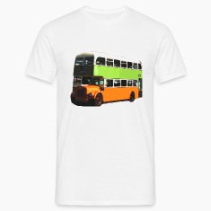 White Glasgow Corporation Bus Men's T-Shirts
