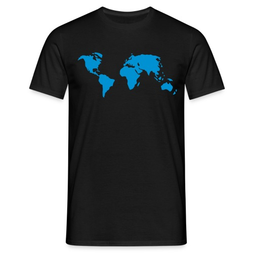 Man T-Shirt Global Warmning 2 - Men's T-Shirt