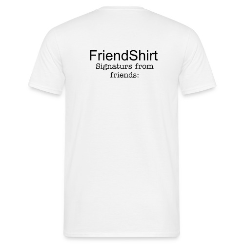 FriendShirt - T-skjorte for menn