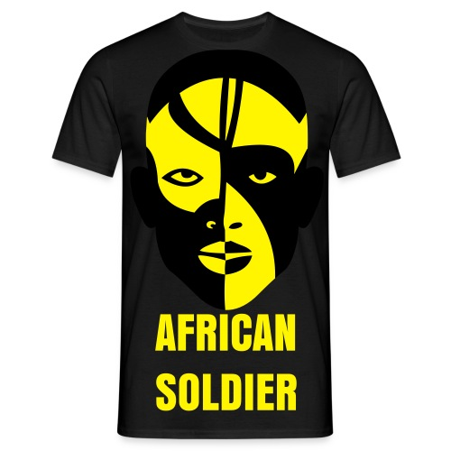 African Soldier  - T-shirt Homme