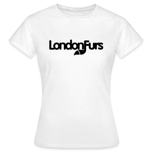 Girl's Classic T-Shirt (all-black logo) - Women's T-Shirt
