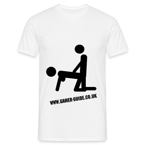 Bend Over T shirt - Men's T-Shirt