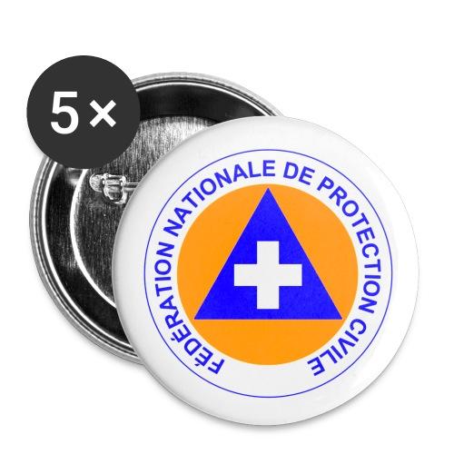 Badges 25mm Protection Civile - Badge petit 25 mm