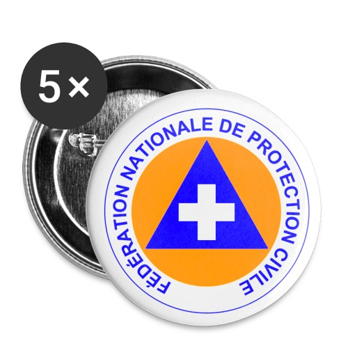 Badges 32mm Protection Civile - Badge moyen 32 mm