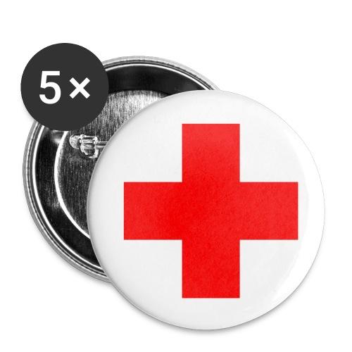 Badges 25mm Red Cross - Badge petit 25 mm