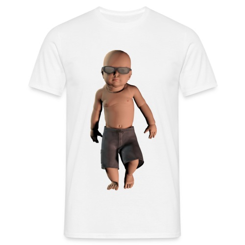 Sej baby - Herre-T-shirt