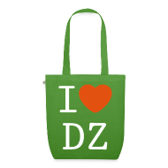 Sacs et sacs à dos ~ Sac en tissu biologique ~ I Love DZ