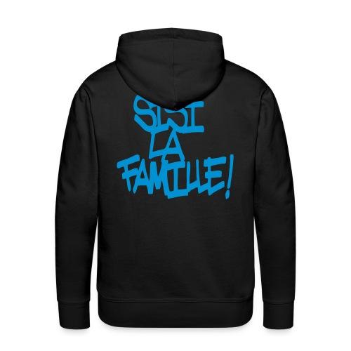 SISI LA FAMILLE - Sweat-shirt à capuche Premium pour hommes