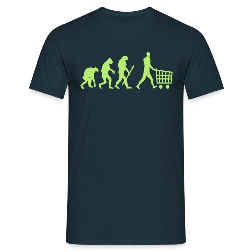 Evolution Shopping - Männer T-Shirt