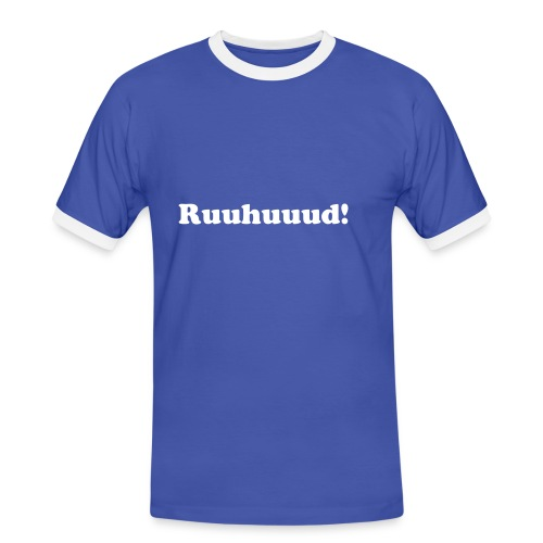 Ruuhuuud - Mannen contrastshirt