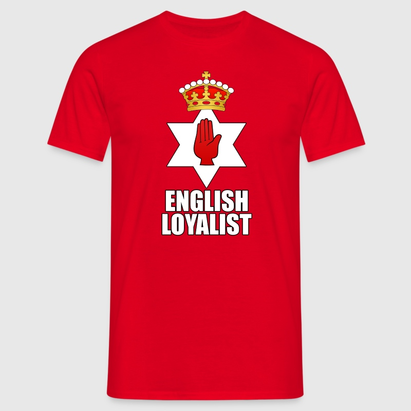Red english Men's T-Shirts - Men's T-Shirt