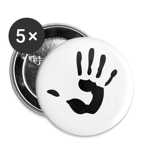Paradox Hand Badge - Buttons small 25 mm