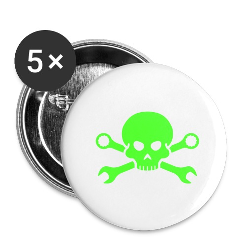 1 Badge with custom design - Buttons small 1''/25 mm (5-pack)
