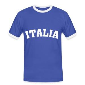 Mannen contrastshirt - Italia