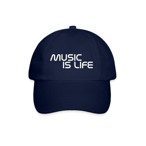 Music is my Life  - Baseballkasket