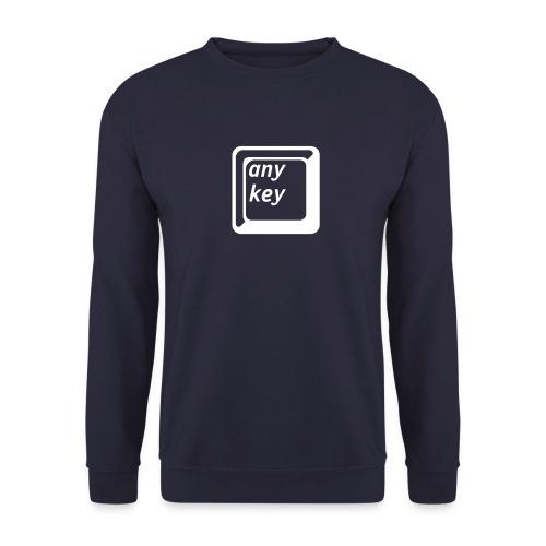 Any-Key (Der Gag-Pulli) - Männer Pullover