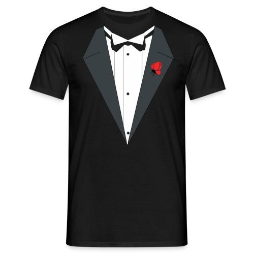 MARCO CORLEONE TUXEDO  - Männer T-Shirt