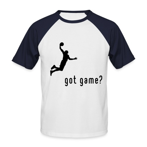 BasketBall is life - T-shirt baseball manches courtes Homme