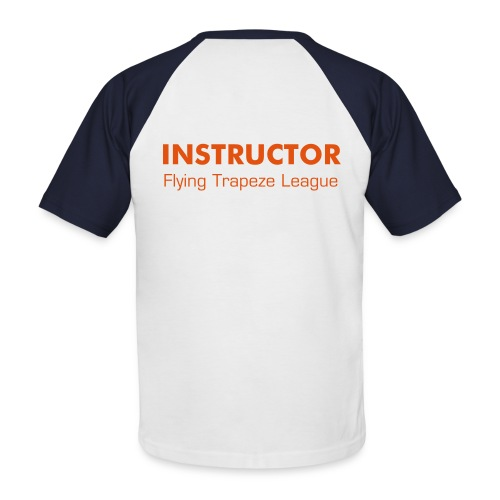 T-Shirt bicolore - Instructor - T-shirt baseball manches courtes Homme