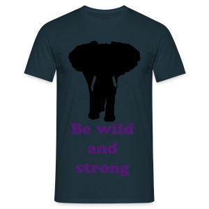 EleWear Wild&Strong - Men's T-Shirt