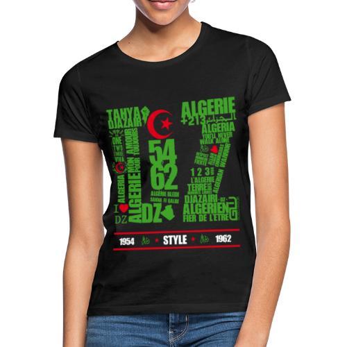 Algérie DZ Style - T-shirt Femme