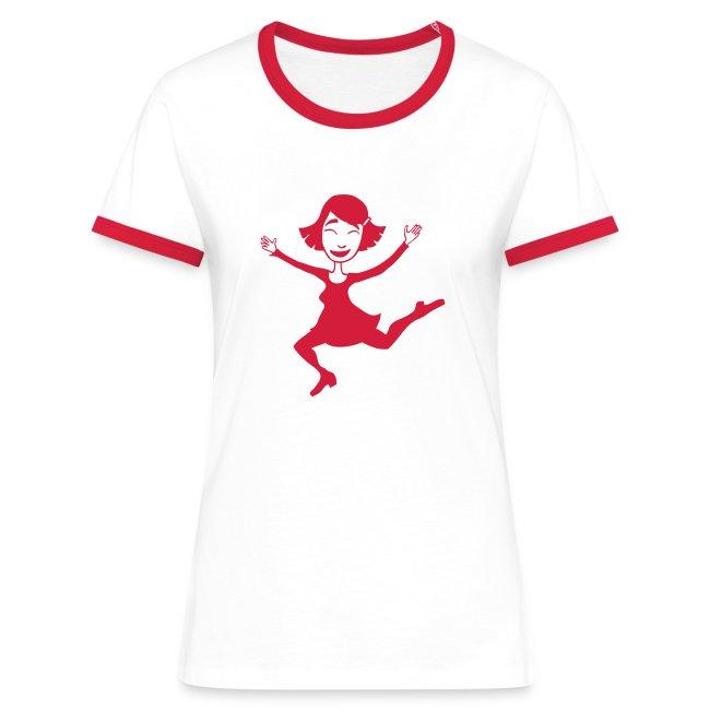 Dora springt