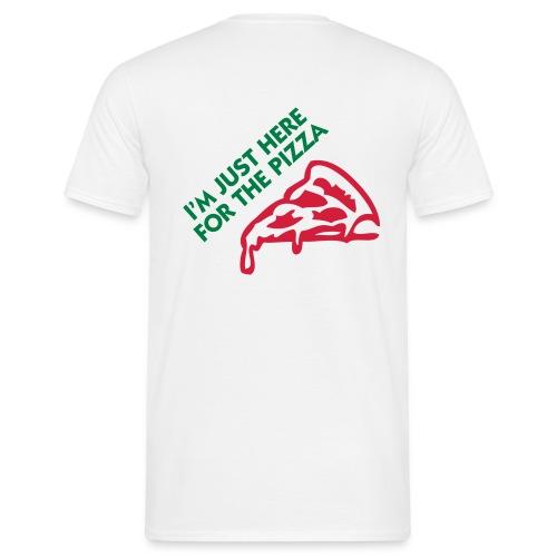 Erasmus Italy - Pizza - Men's T-Shirt