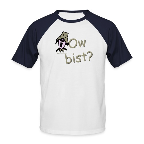 Ow Bist? s/s mens baseball shirt - Men's Baseball T-Shirt